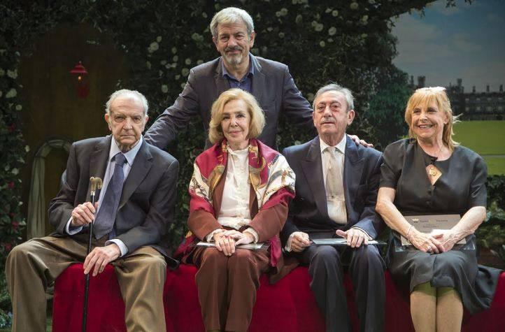 Alonso Millán, María José Alfonso, Luis Varela, María Luisa Merlo y Carlos Sobera