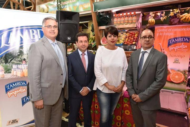 Lambda presenta en Las Palmas una nueva bebida funcional