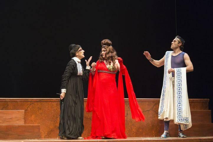 'Los pelópidas' en el teatro Bellas Artes