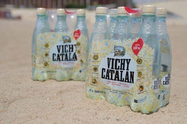 Nueva botella de Vichy Catalán