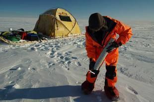 Muestras árticas de cambio climático para la ciencia madrileña