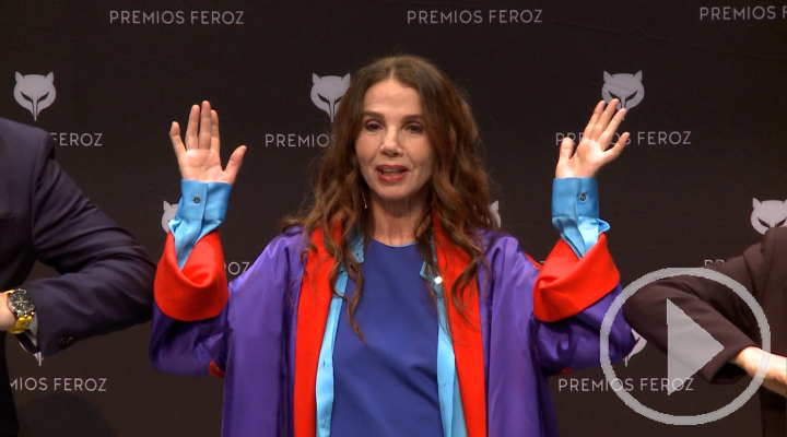 """Victoria Abril califica la pandemia de """"coronacirco"""""""