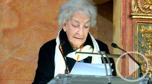 Ida Vitale califica 'El Quijote' de 'frenesí poético'