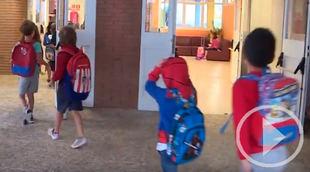 Alumnos de infantil y primaria comienzan el curso