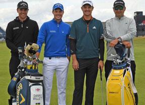 Johnson, Day, McIlroy y Spieth, los grandes favoritos en este Open