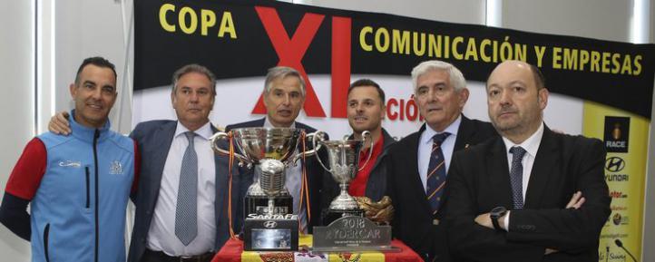 Presentación de la Copa Comunicación y Empresas.