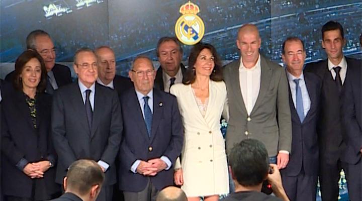 Zidane vuelve como entrenador al Real Madrid