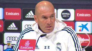 Zidane: Courtois 'está listo' para jugar contra el Getafe