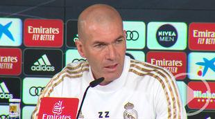 Zidane pide centrarse en 'el juego' para el Clásico