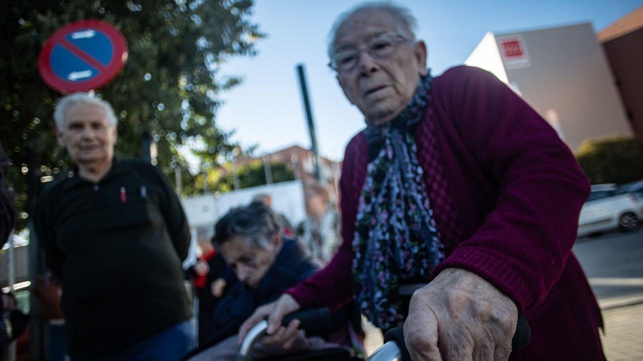 Una de las usuarias de la Residencia Los Frailes de Leganés. (Fuente: Kike Rincón)