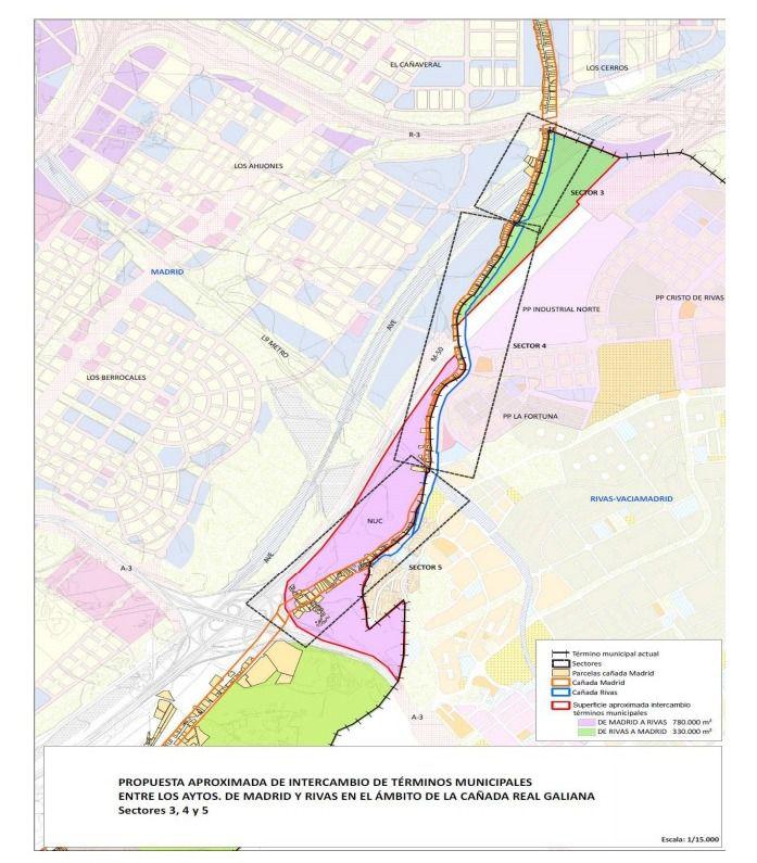 Mapa Terminos Municipales Madrid.Madrid Y Rivas Liberan La Canada Real Y Establecen El