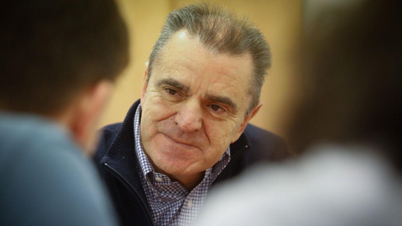 José Manuel Franco, durante la entrevista. (Foto: Kike Rincón)