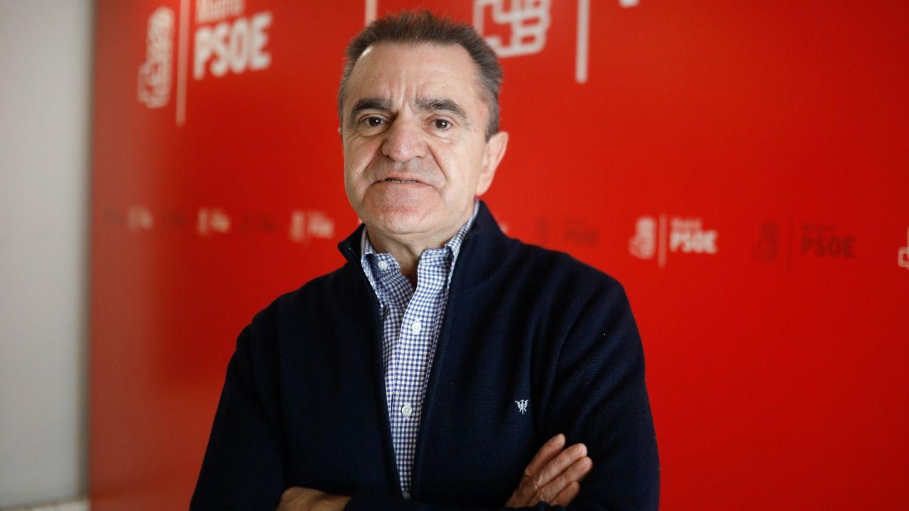 José Manuel Franco, antes de la entrevista. (Foto: Kike Rincón)