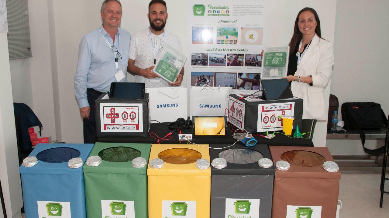 'La magia del quinto contenedor' del CEIP La Marina (Comunidad Valenciana) ha sido el proyecto ganador (Foto: Chema Barroso)