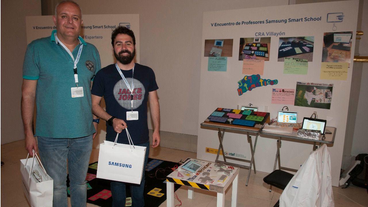 El segundo premio ha sido para el trabajo del CRA Villayón de Asturias, 'Juegos matemáticos'