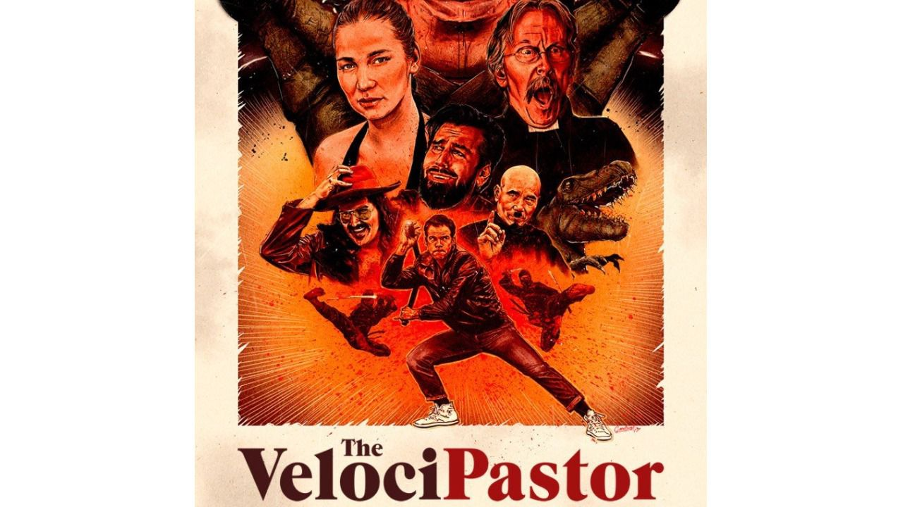 Cartel de 'The VelociPastor'