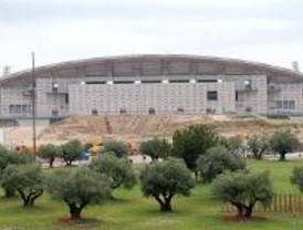 Las obras del nuevo estadio del  Atl�tico de Madrid han comenzado