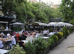 La hostelería madrileña se desplomó un 18,6% en agosto