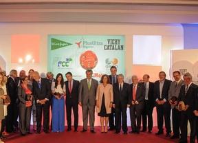 Foto de familia de los premiados de 2014