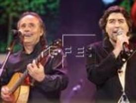 Serrat y Sabina ofrecen un concierto inolvidable