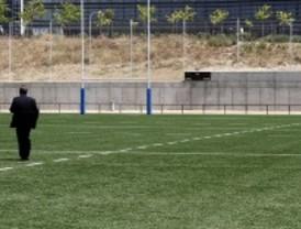Campos de p�del y rugby en el parque Juan Pablo II