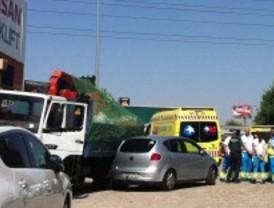 Fallece un conductor atropellado por su propio camión