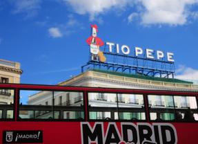 El cartel de t o pepe regresa a sol madridiario for Cartel tio pepe puerta del sol