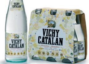 propiedades del agua con gas vichy catalan
