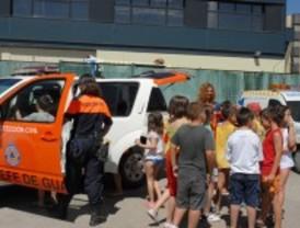 Los servicios de emergencia de valdemoro visitan el cole - Oficina de empleo valdemoro ...