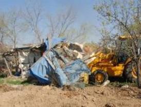 Los derribos de unas chabolas en Torrejón de Ardoz permitirán construir un gran parque