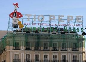 El luminoso de t o pepe no estar para navidades madridiario for Cartel tio pepe