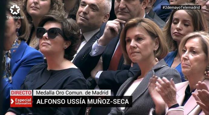 f0ac1c5ce4 Ella, uno de los tantos nombres que suenan en las quinielas para el ticket  electoral de 2019, ha sido la principal embajadora de Moncloa en un Dos de  Mayo ...